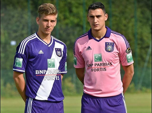 Divise Anderlecht 2014-2015