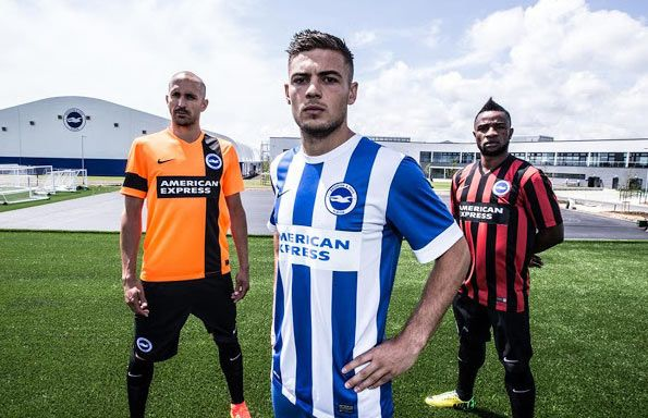 Kit Brighton and Hove Albion 2014-2015