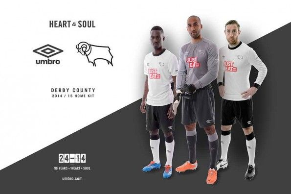 Derby County kit 2014-2015 Umbro