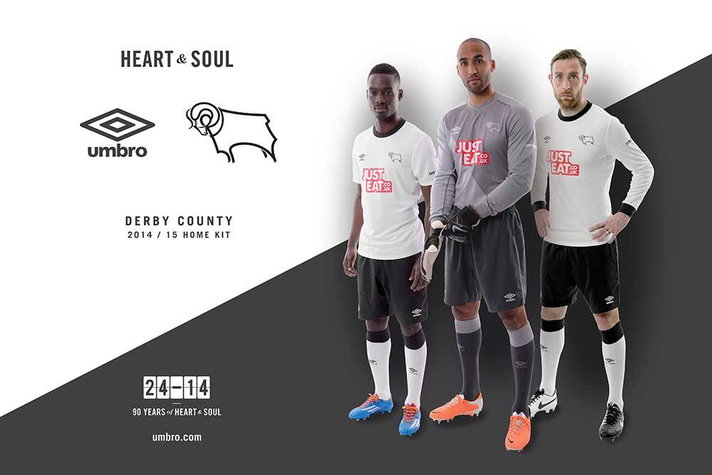 Derby County kit 2014-2015 Umbro