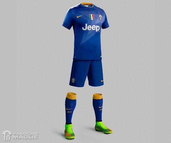Divisa Juventus trasferta blu 2014-15