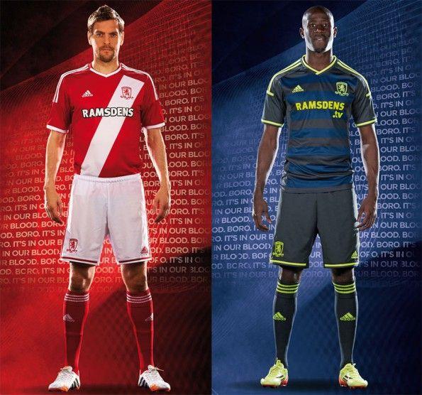 Kit Middlesbrough 2014-2015 adidas