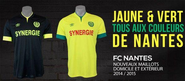 Kit Nantes FC 2014-2015