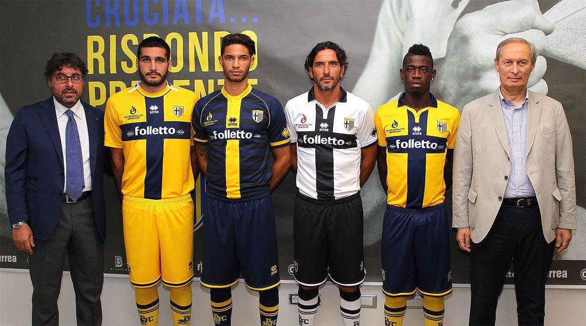 Presentazione maglie Parma 2014-2015