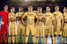 Kit Pumas Unam 2014-2015