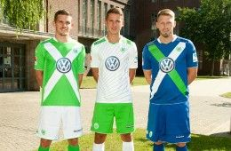Kit Wolfsburg 2014-2015