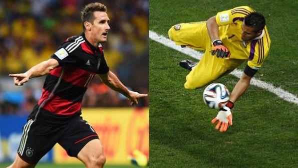 Klose e Romero