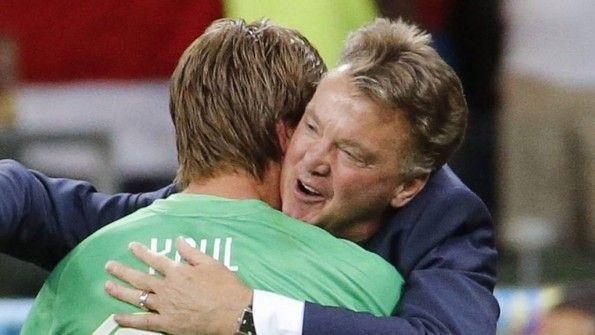 Van Gaal abbraccia Krul