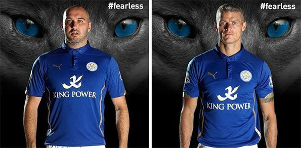 Maglia Leicester 2014-15 Puma