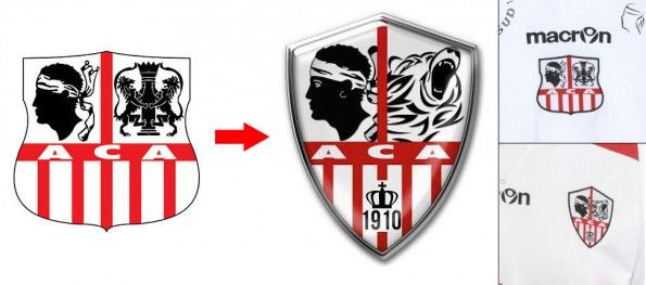 Nuovo stemma AC Ajaccio