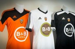 Maglie Adidas Lorient 2014-2015