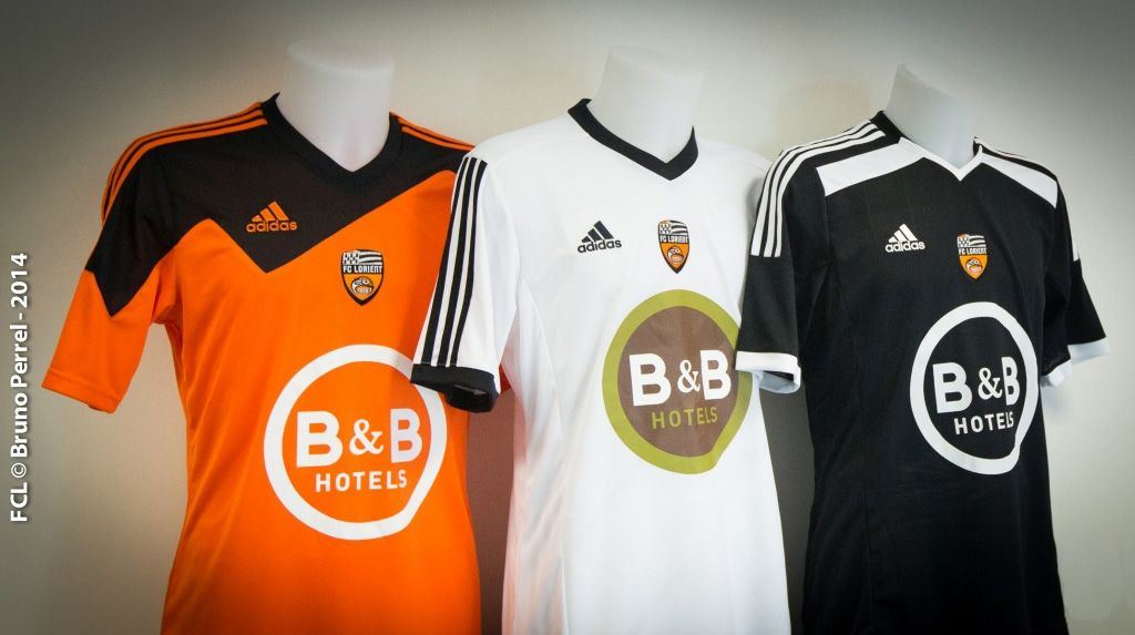 Maglie Adidas Lorient 2014-2015