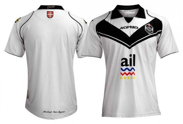 Seconda maglia Lugano 2014-2015