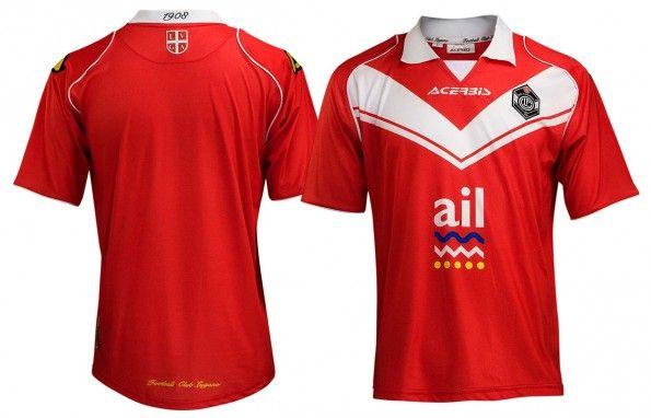 Terza maglia Lugano rossa 2014-2015