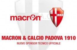 Macron sponsor tecnico Padova