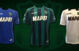 Maglie Sassuolo 2014-2015 Sportika