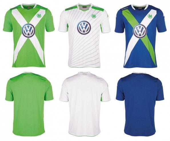 Maglie Wolfsburg 2014-2015 Kappa