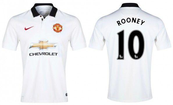 Seconda maglia Manchester United 2014-2015 Rooney