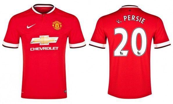Maglia Manchester United Van Persie 2014-15