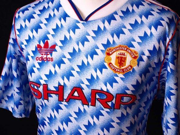 Seconda maglia Manchester United 1990-1992