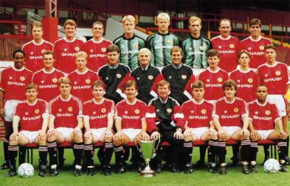 Rosa Manchester United 1991