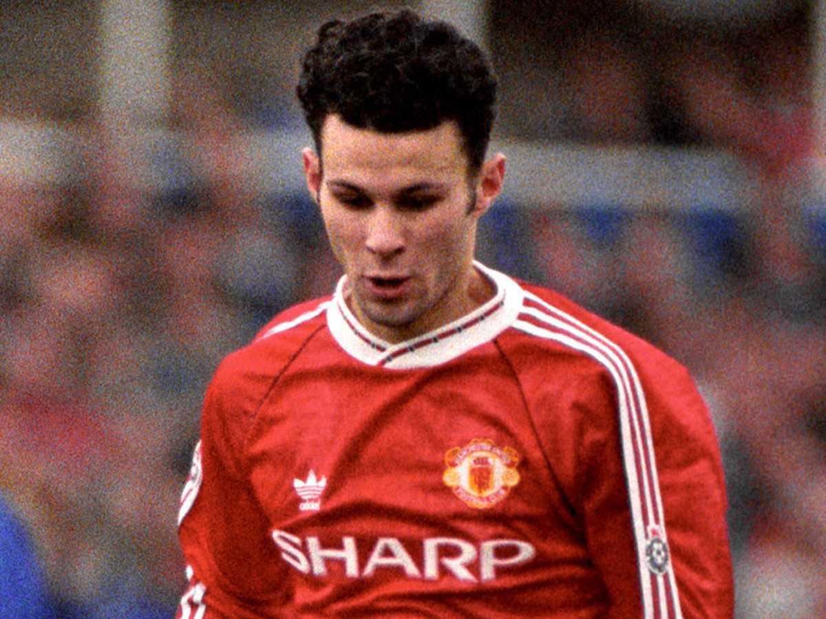 Maglia Manchester United 1991 home Giggs