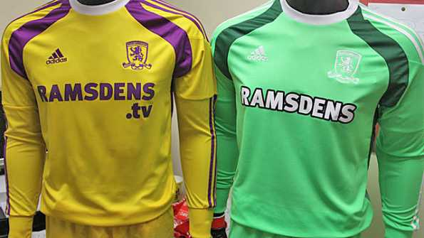 Middlesbrough 2014-2015 maglie portiere
