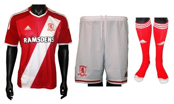 Maglia Middlesbrough 2014-2015