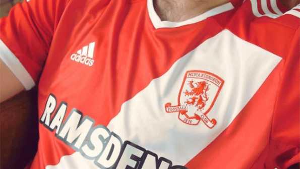 Banda bianca Middlesbrough 2014-15