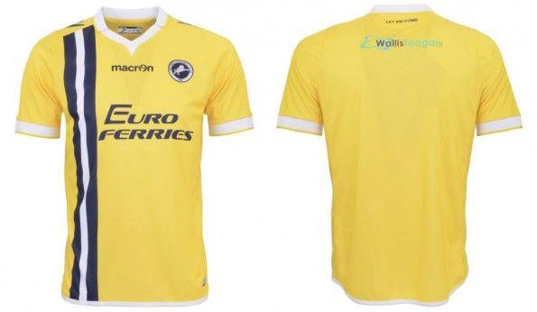 Seconda maglia Millwall 2014-2015