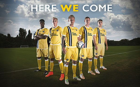 Millwall away kit 2014-2015