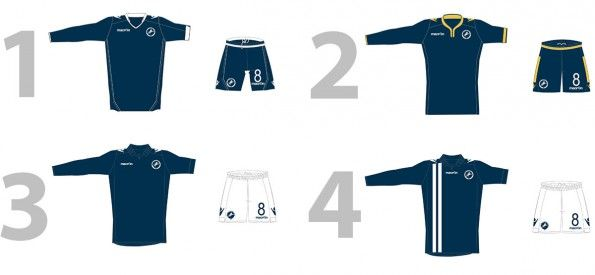 Millwall FC kit vote 2014-15