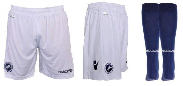 Millwall 2014-2015 pantaloncini calze home