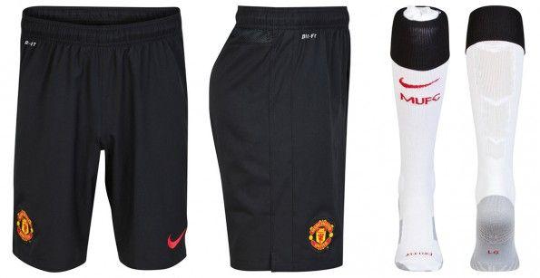 Manchester United pantaloncini calzettoni away 2014-15