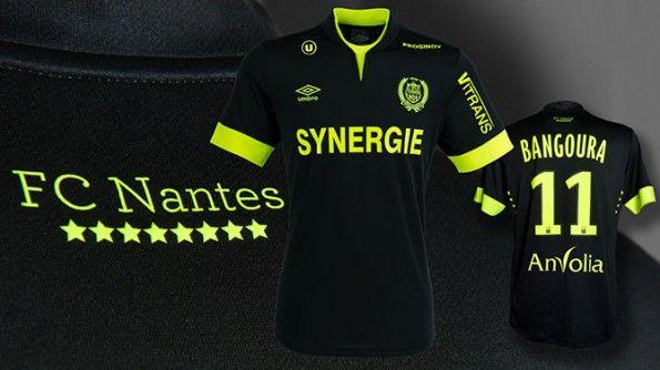 Seconda maglia Nantes 2014-2015