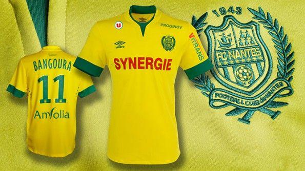 Prima maglia Nantes 2014-2015