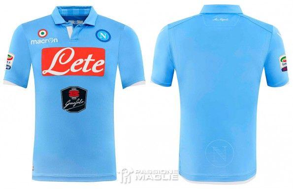Maglia Napoli 2014-2015 azzurra