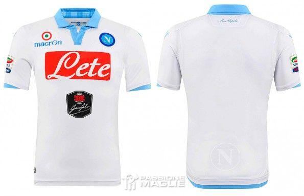 Terza maglia Napoli 2014-2015 Macron