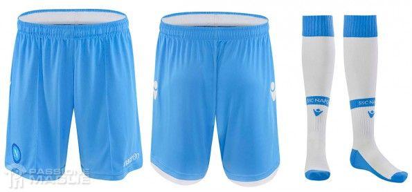 Pantaloncini calzettoni Napoli third 2014-15