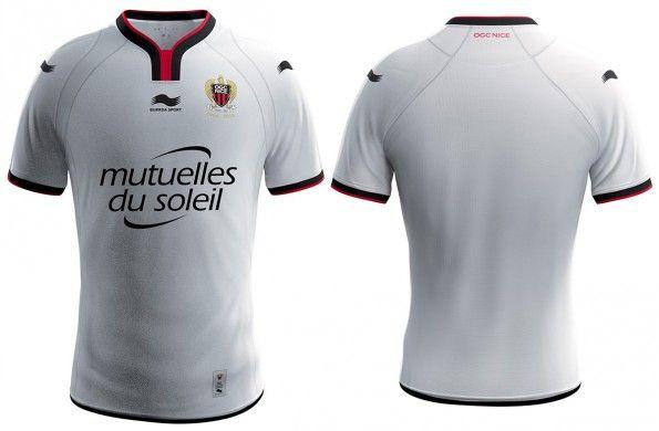 Seconda maglia Nizza 2014-2015
