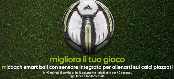 Pallone adidas miCoach Smart