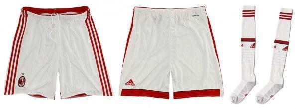 Milan pantaloncini calzettoni away 2014-15