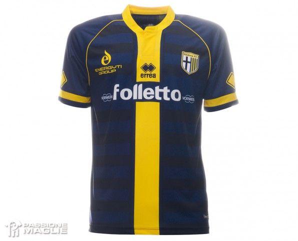 Seconda maglia Parma 2014-2015 blu