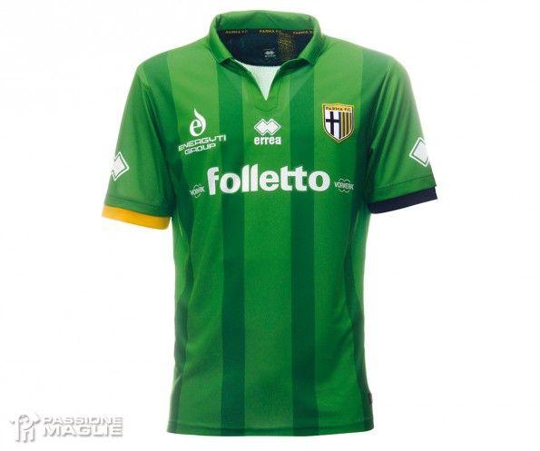 Quarta maglia Parma verde 2014-15 Folletto