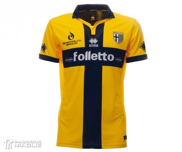 Terza maglia Parma 2014-2015 gialla