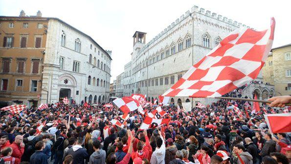 Perugia, promozione 2014
