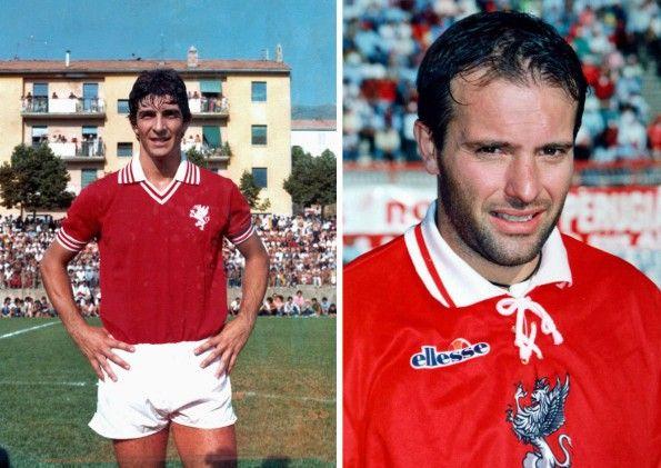 Perugia, maglie storiche, Paolo Rossi 1979-80, Giovanni Cornacchini 1994-95