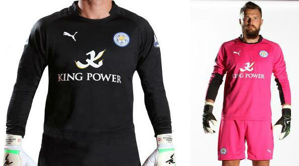 Maglie portiere Leicester 2014-15