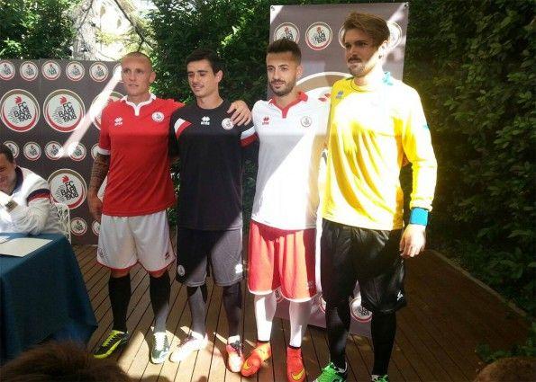 Presentazione maglie Bari 2014-2015