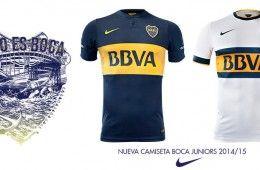 Presentazione maglie Boca Juniors 2014-2015